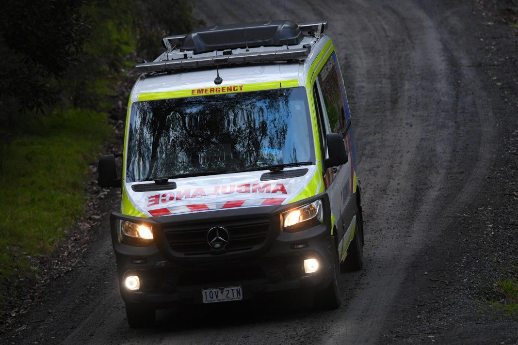 Victorian paramedics are transferring about 150 COVID-19 patients to hospital each day.
