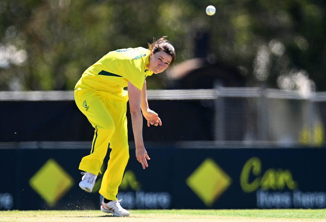 Tahlia McGrath took three wickets in Australia's thrilling victory over India in the second ODI.