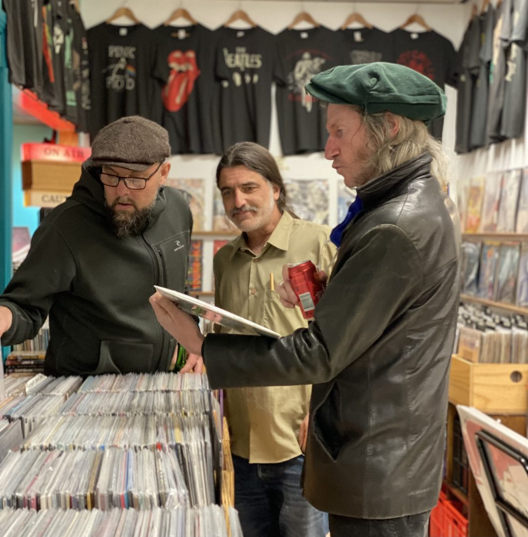 Vinyl Records keep Acland Streets Eclectico going through Lockdowns