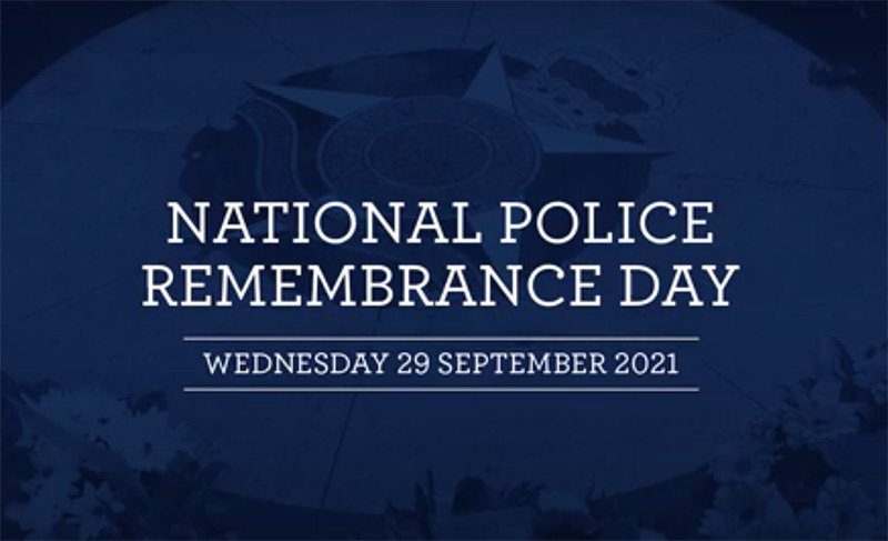National Police Remembrance Day.