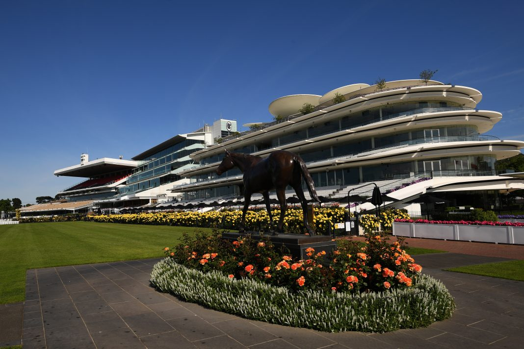 About 10,000 racing fans will be able to attend the Melbourne Cup, as Victoria deals with COVID-19. (James Ross/AAP PHOTOS)